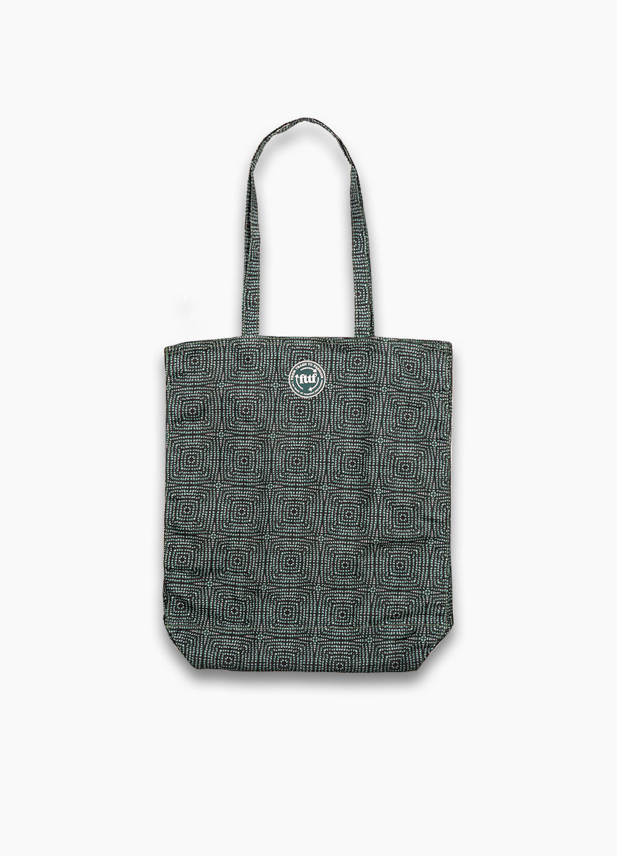 Tote Shopper - Shibori Green