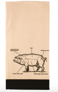 HIC Kitchen Pig Kitchen Towel