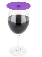 Load image into Gallery viewer, True Brands Dome Wine Class Covers