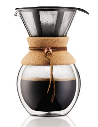 Bodum Double Walled 8 cup Pour Over