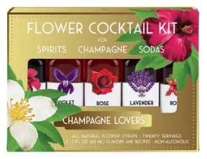 Flower Cocktail Kit- Champagne