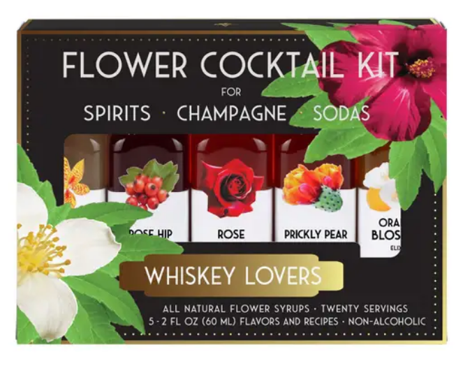 Flower Cocktail Kit- Whiskey