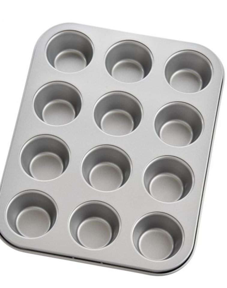 Mrs. Anderson's Baking Non Stick Mini Muffin Pan, 12 Cup
