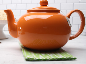 RSVP International Stoneware Teapot