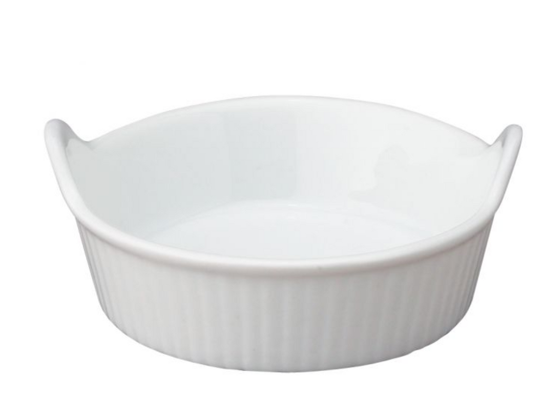 HIC Kitchen Ramekin, Mini-Eared, 1oz
