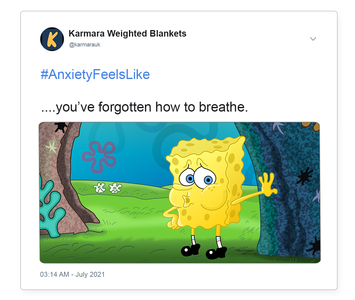 Anxiety and shortness of breathe