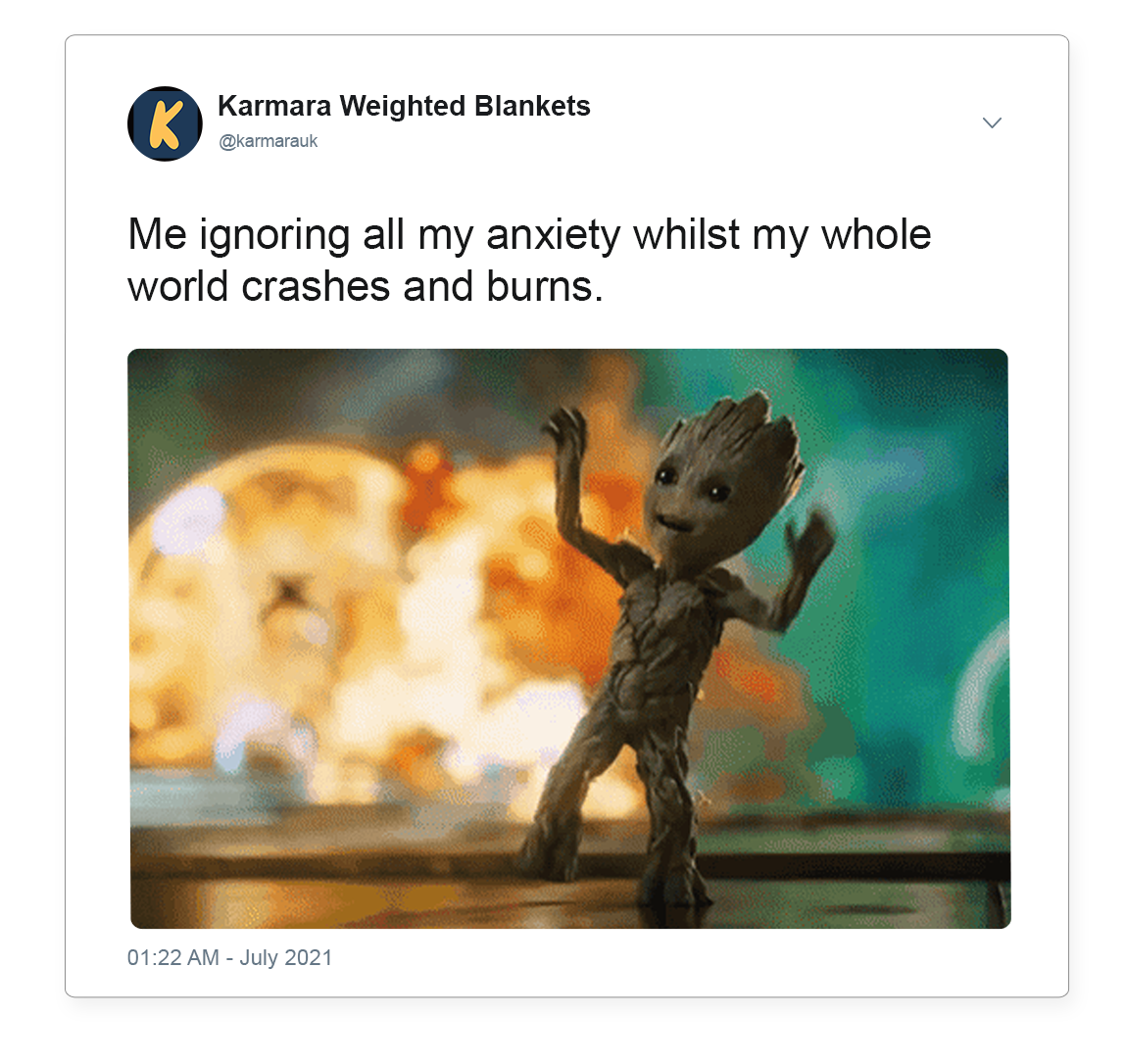 Don't ignore anxiety