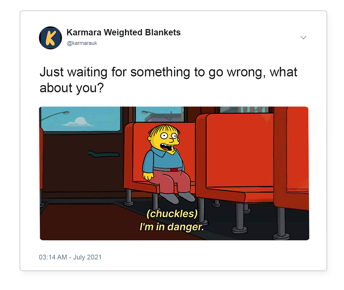 Waiting for something to go wrong