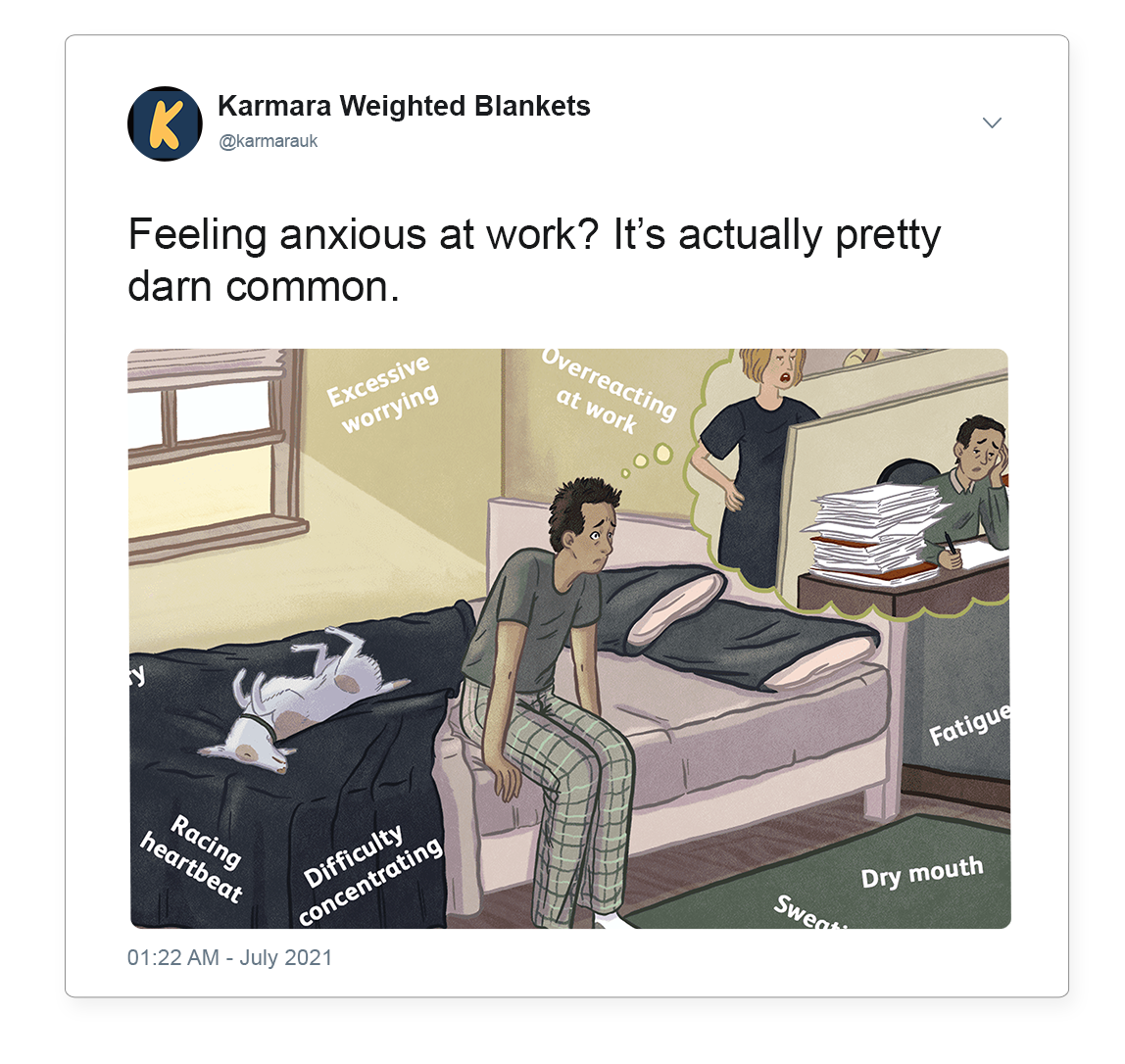 Anxiety at work