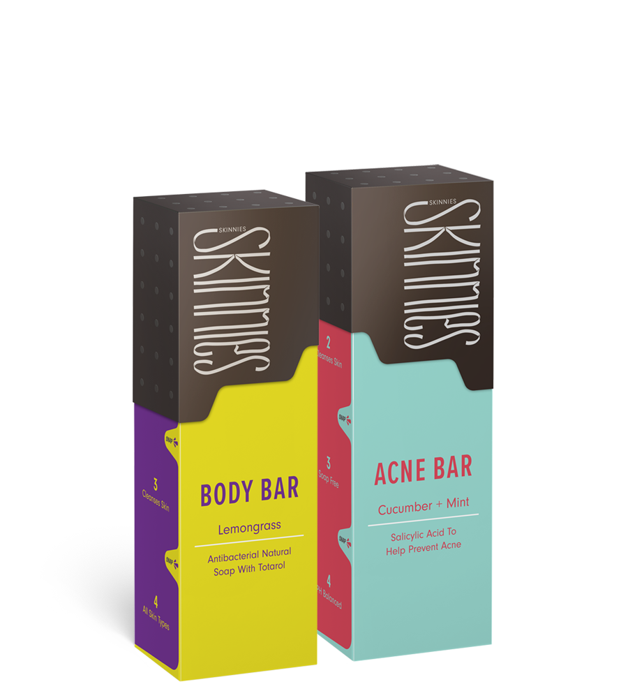 Acne Bar & Body Bar soap combo
