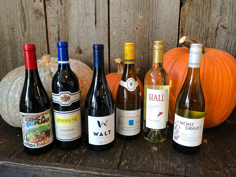 Our Thanksgiving wine suggestions