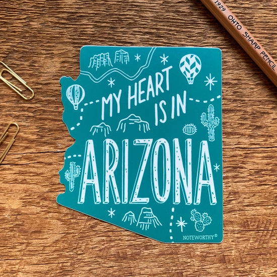 Arizona Sticker Green