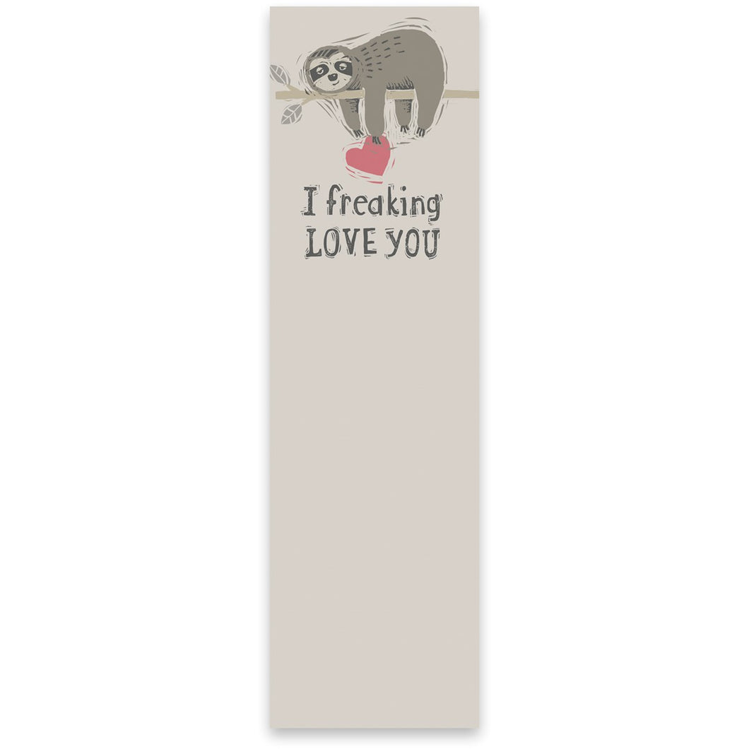 List Notepad- Love You