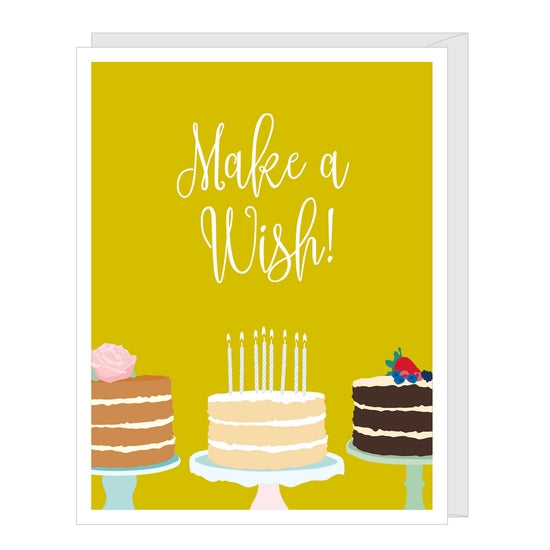 Card Make a Wish Birthday