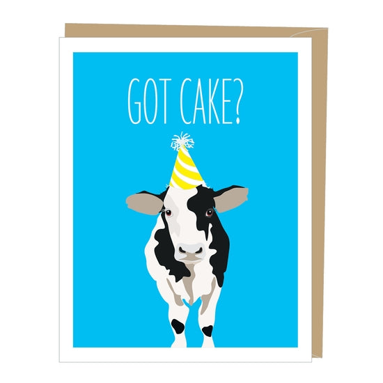 Card Cow got Cake