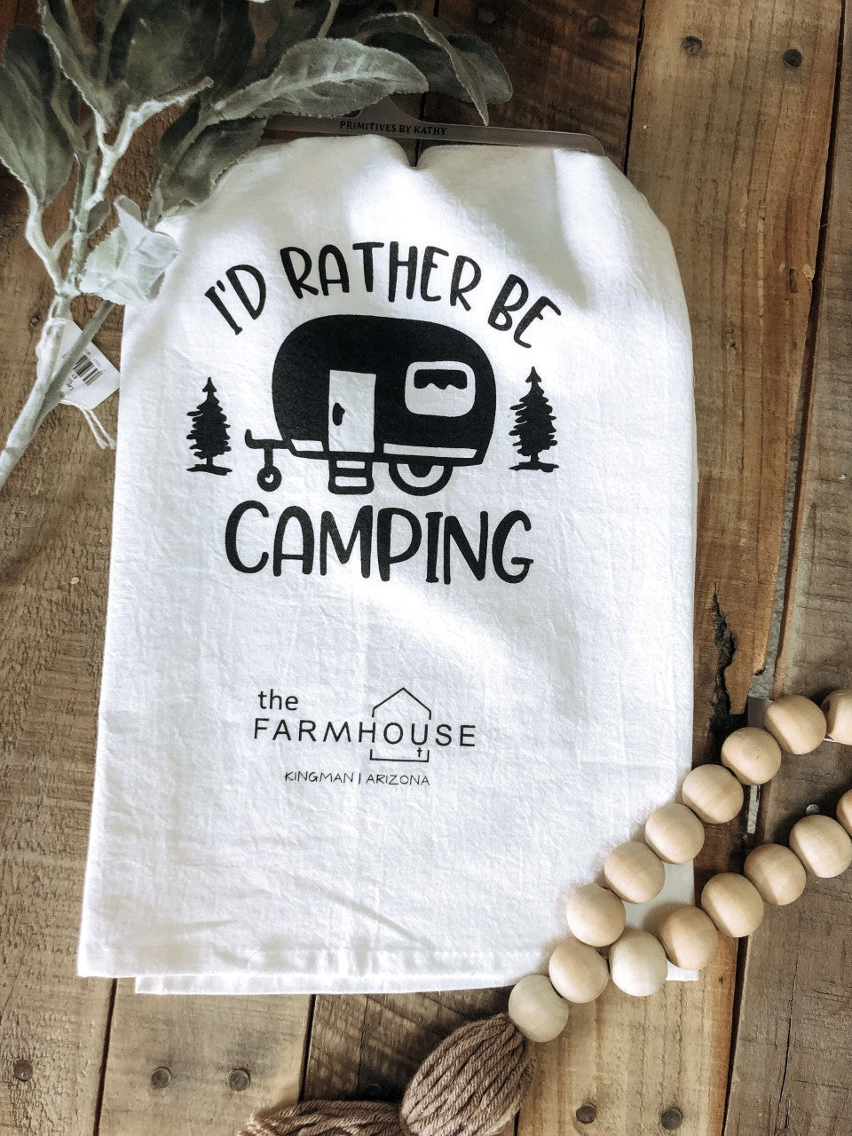 Towel Rather Be Camping