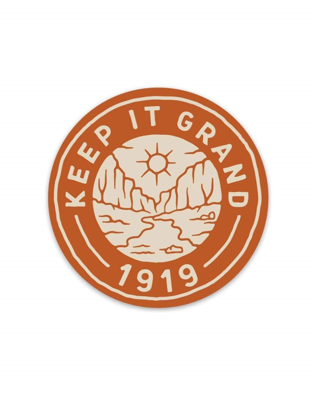 Sticker Keep It Grand 1919