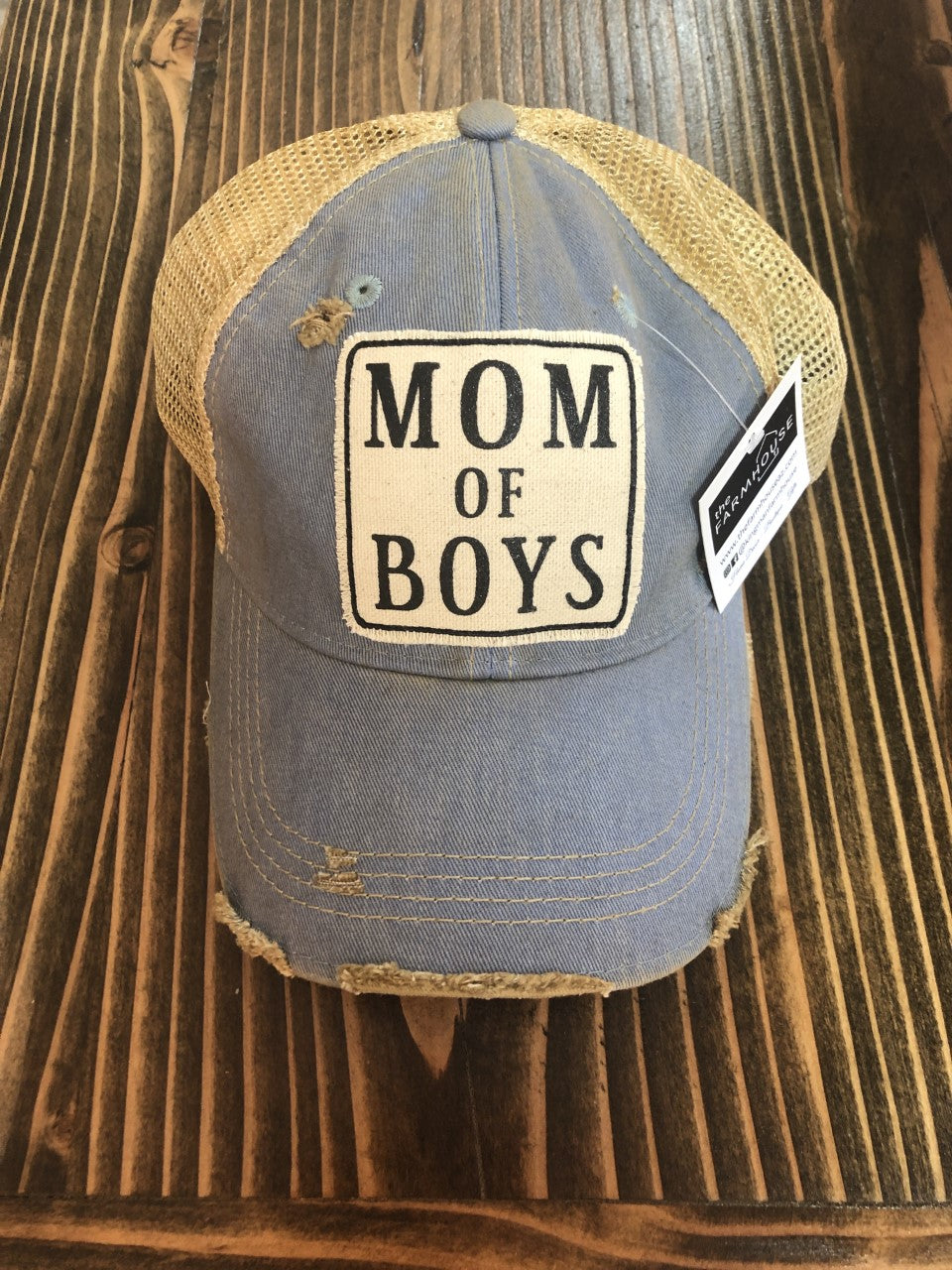 LHC- Mom of Boys Dusty Blue
