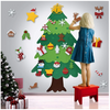 DIY Felt Tree & Spare Ornaments Bundle(With FREE LED String Light)