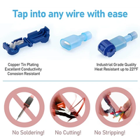 T-Tap Wire Connectors Kit (60 PAIRS/120 PCS)