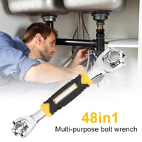 48 in 1 Multipurpose Wrench