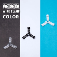 Finisher Wire Clamp, Transparent(Factory Outlet 50% OFF!)