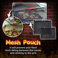 Non-Stick BBQ Mesh Grilling Bag - GiftedLoving