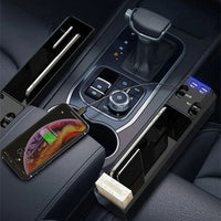 Car Organizer with Charger Cable