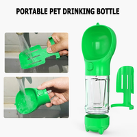 4 in 1 Multifunction Portable Pet Dog Water Bottle