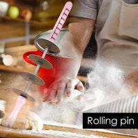 Adjustable Blade Roller Pin & Croissant Cutter
