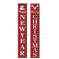 Extra Large Christmas Decorative Oxford Banner