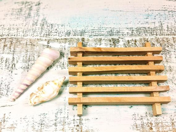 Wooden Soap Dish Holder