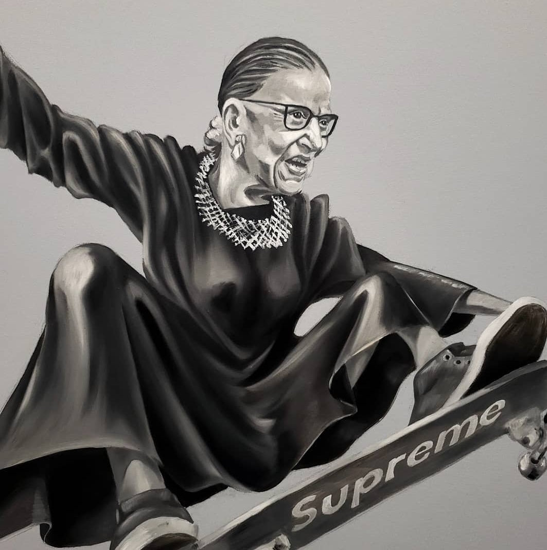 "Icon Image - Ruth ""Skater' Ginsburg"