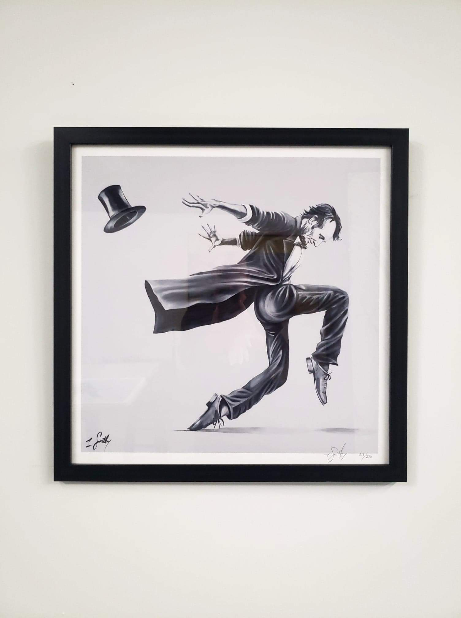 LIMITED EDITION Dancing Lincoln Prints