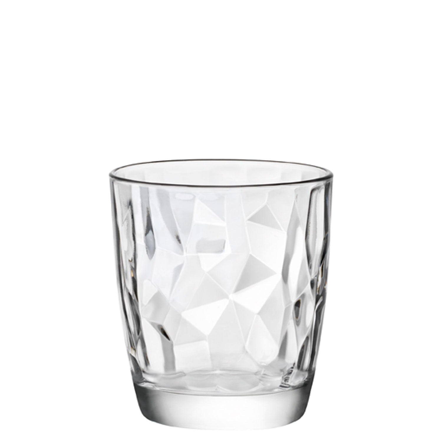 Diamond Trinkglas Transparent 30,5 cl -  Ø 8,4 x 9,3 cm (6 Stück)