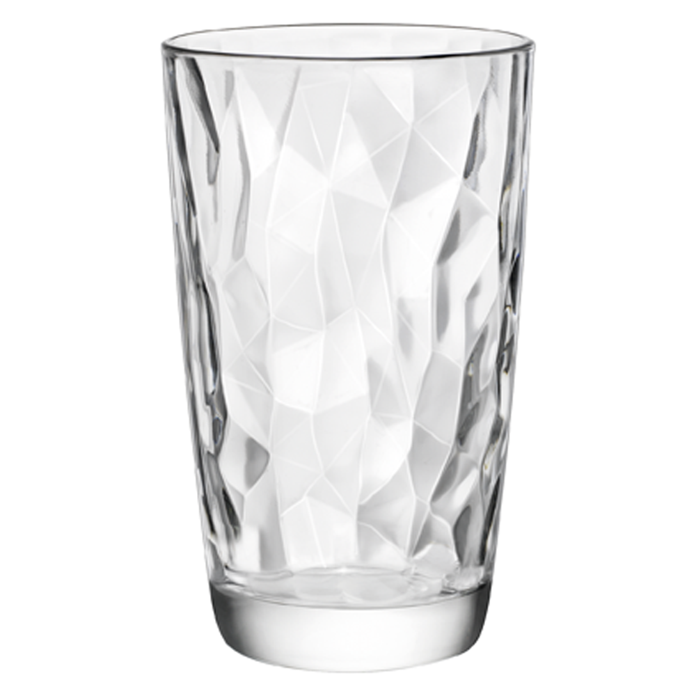 Diamond Longdrinkglas Transparent 47 cl - Ø 8,5 x 14,4 cm (6 Stück)