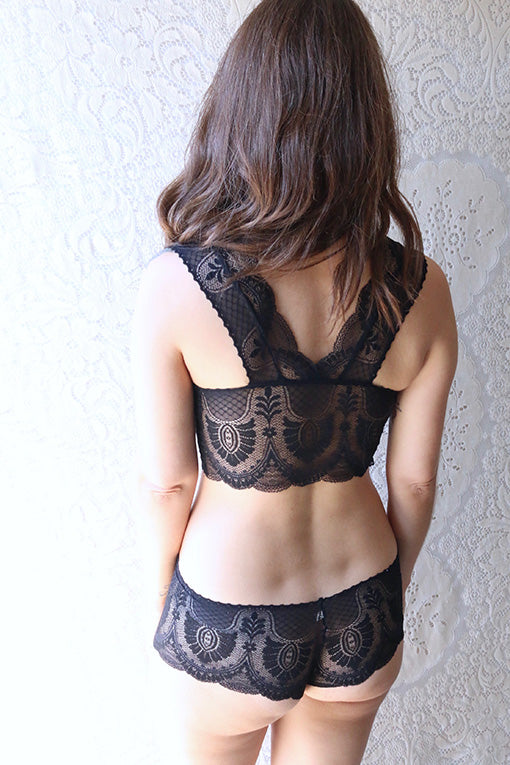 Black Francesca Racerback Set