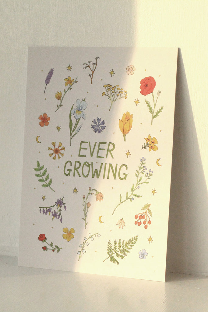 Immy Keys 'Ever Growing' A5 Print