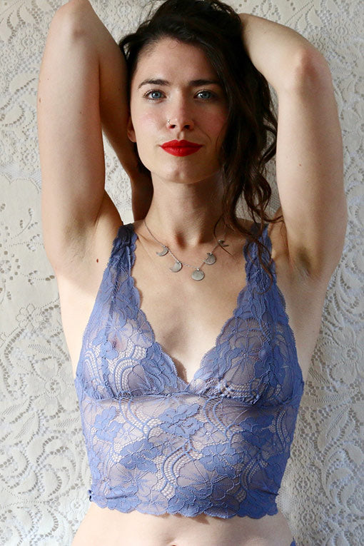 Blue Lace Bralette