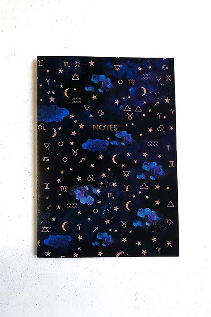Zodiac Dreams Celestial Notebook