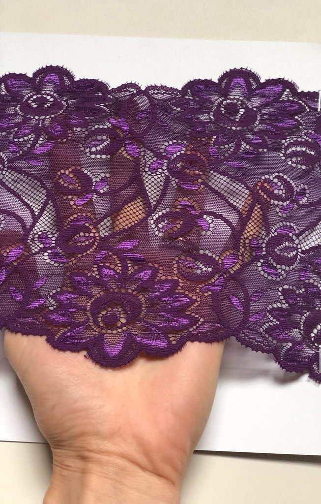 Damson Lace French Knickers