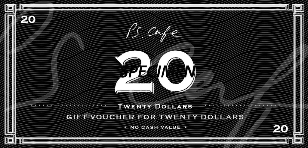 $20 Gift Voucher - PS.Cafe Online