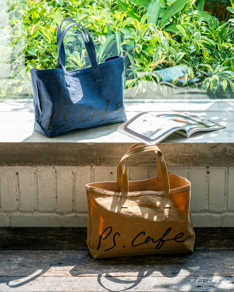 PS. Tote for Charity - The East Coast - Seaside Blue
