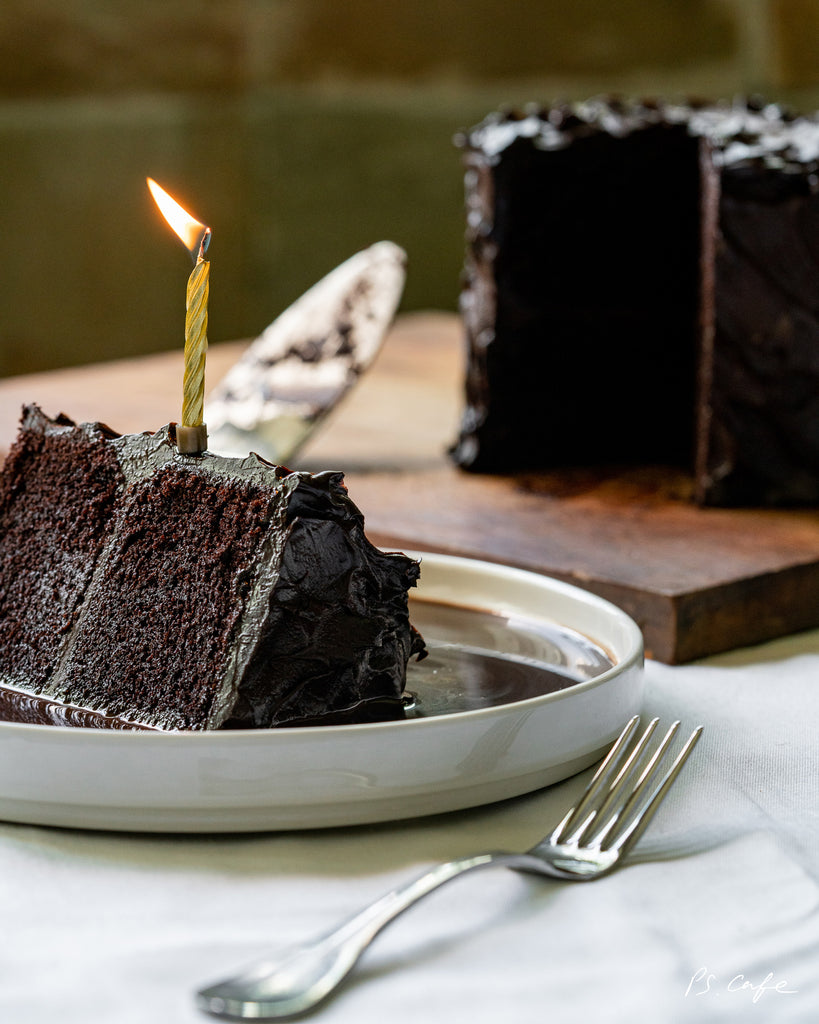 Double Chocolate Blackout Cake