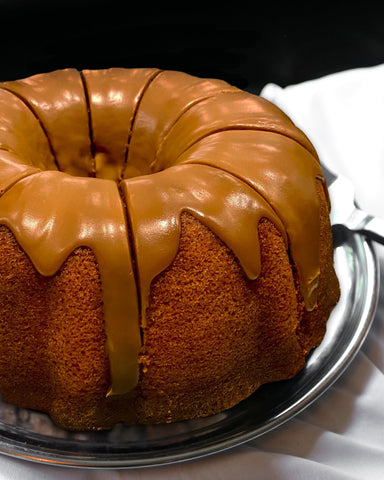 Golden Banana Butterscotch Bundt