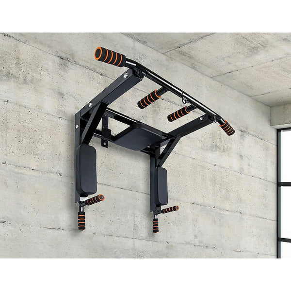 Wall Mounted Pull Up Bar Chin Up Bar - Blazan Store
