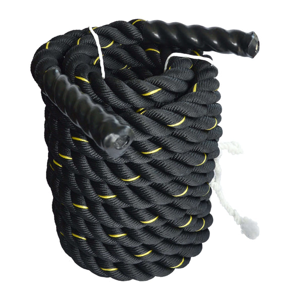Battle Rope 3.8cm x 9M, Full Body Workout Equipment For Strength Training - Blazan Store