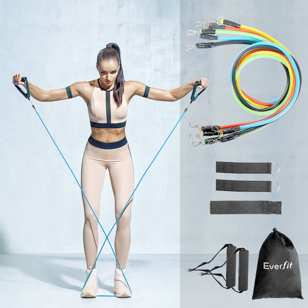 Resistance Bands Workout Training Tube Bands Focus Whole Body - Blazan Store