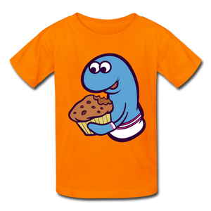Open image in slideshow, Socky Kids' T-Shirt - orange