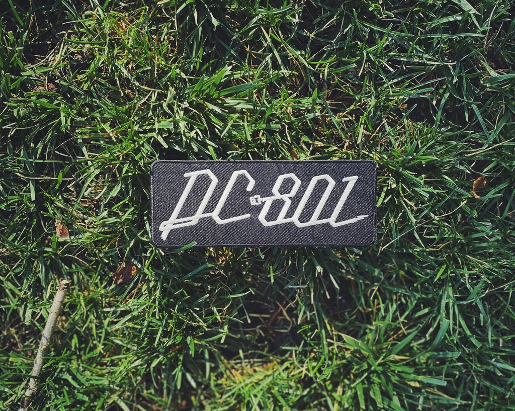 DC801 large patch (glow in the dark)